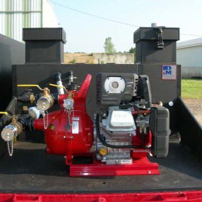 Rowe Poly Skid w/ 6HP Davey Pump