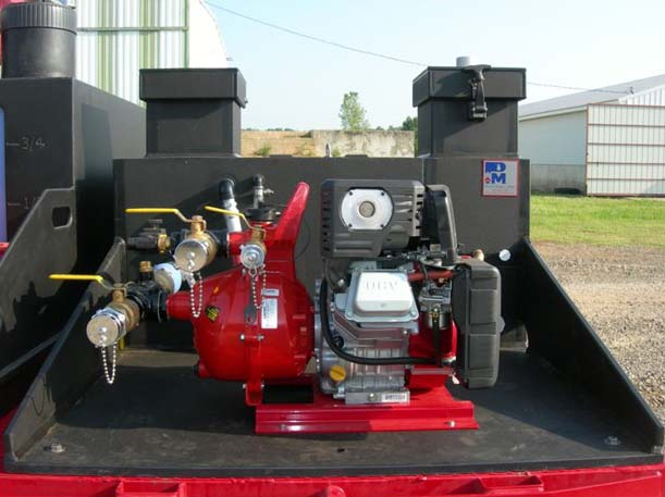 Rowe Poly Skid w/ 6HP Davey Pump